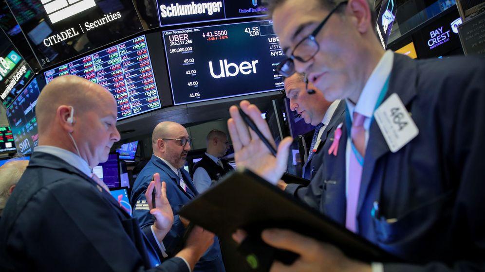 Foto: Traders en la bolsa de Nueva York. (Reuters)