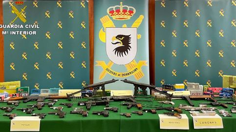 Desarticulan una red de tráfico y venta ilegal de armas en Valencia y Vizcaya