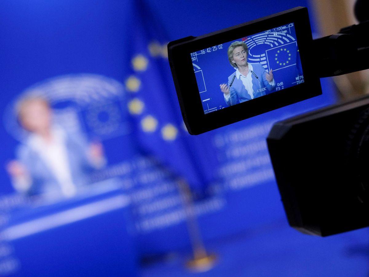 Foto: Ursula von der Leyen, presidenta de la Comisión Europea.