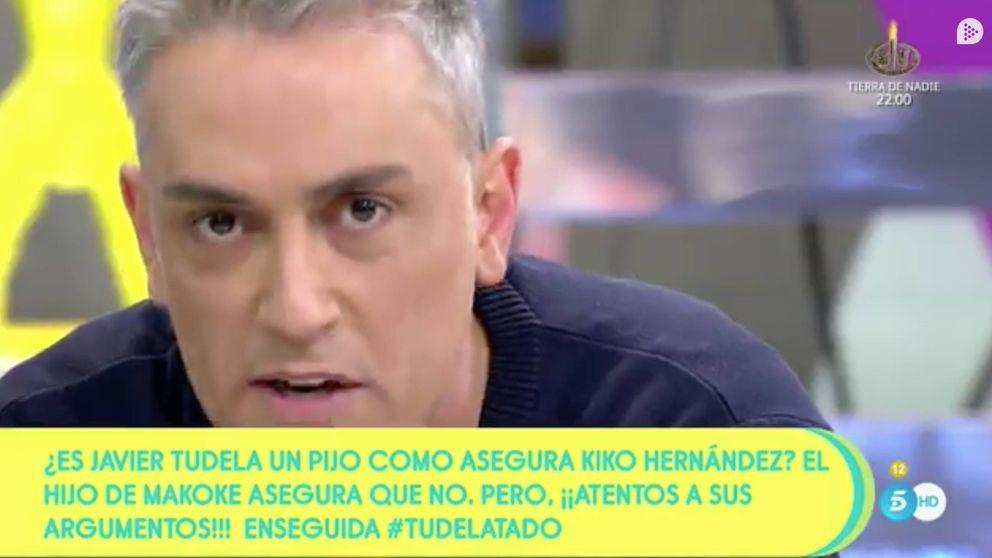 Kiko Hernández, a Javier Tudela: Si necesitas pasta, llama a papá