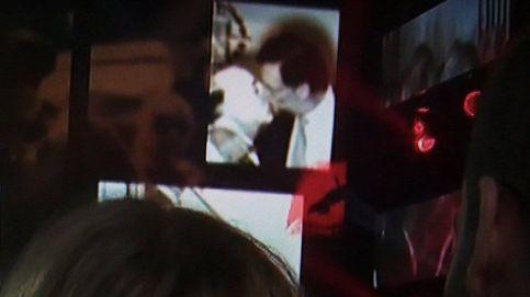 El polémico fotomontaje del beso entre Franco y Rajoy en una actuación de 'OT'
