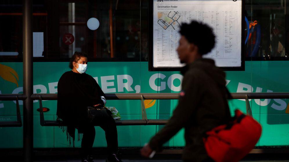 Foto: Una calle de Mánchester, hoy. (Reuters)