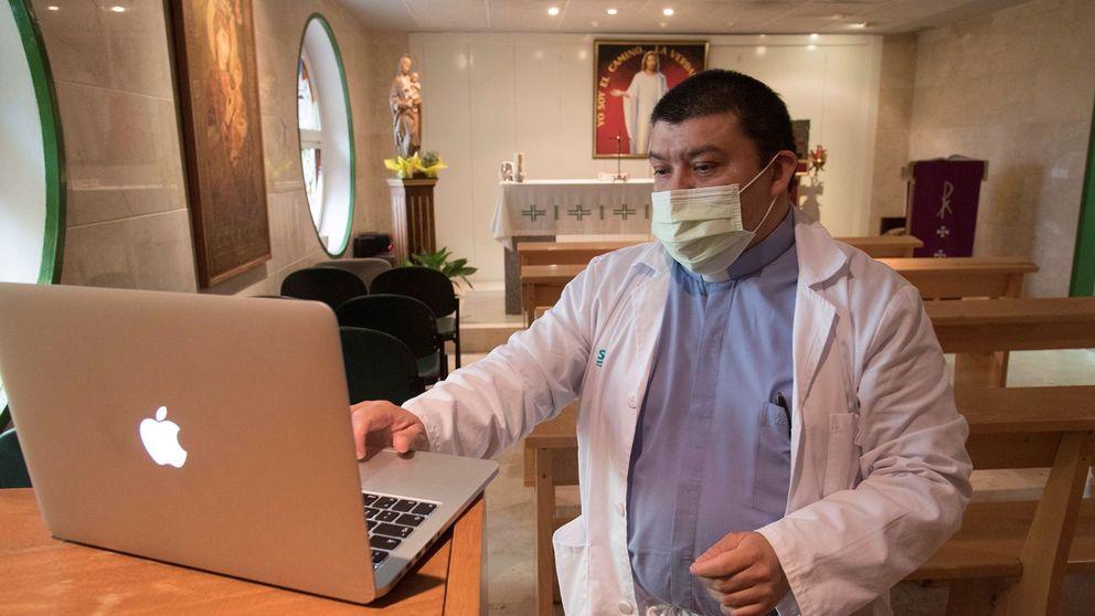 Ayuso y un cura cada 100 camas de hospital: una ley de Felipe González obliga a ficharlos