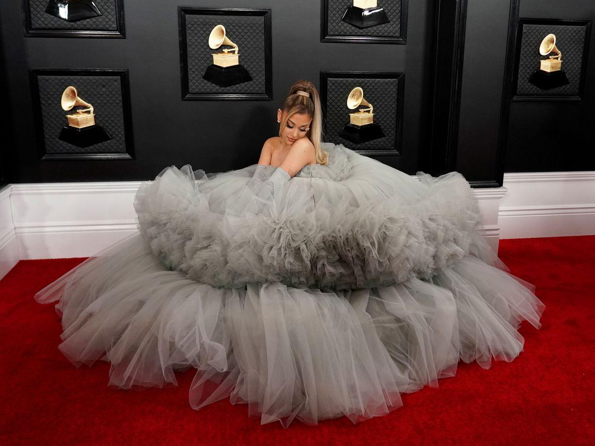 Foto: Ariana Grande, en los Grammy. (Reuters)