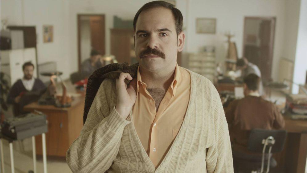 Foto: El actor Jorge Usón en 'Grupo 2: Homicidios'. (Mediaset España)