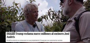 Post de José Andrés y la demanda de Trump: así finiquitó el asunto en 'Planeta Calleja'
