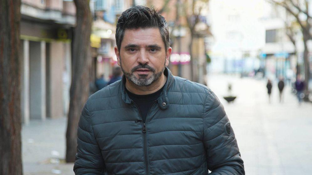 Foto: El reportero José Antonio Masegosa. (Telemadrid)
