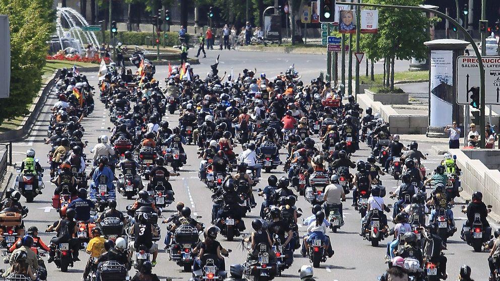 Las Harley toman Madrid