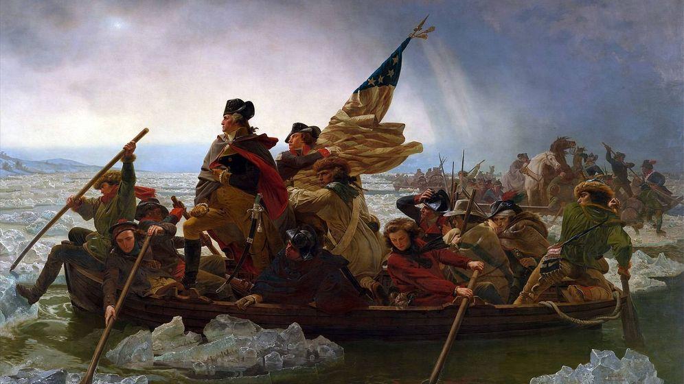Foto: 'Washington cruzando el Delaware' de Emmanuel Leutze (1851). (Metropolitan Museum of Art)