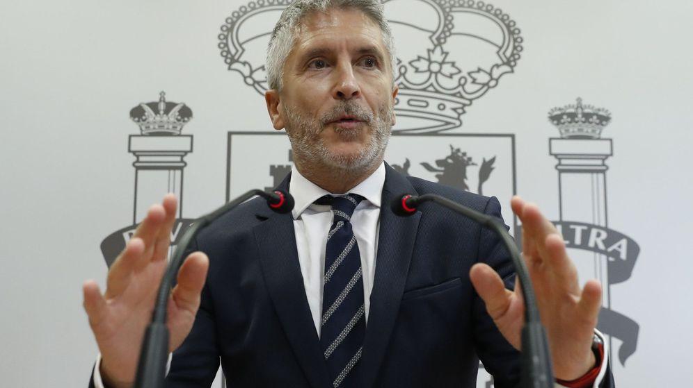 Foto: Fernando Grande-Marlaska, ministro del Interior en funciones. (EFE)