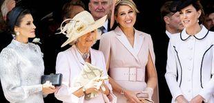 Post de El bolso de la reina Letizia en la Jarretera cuesta casi lo mismo que el resto del look