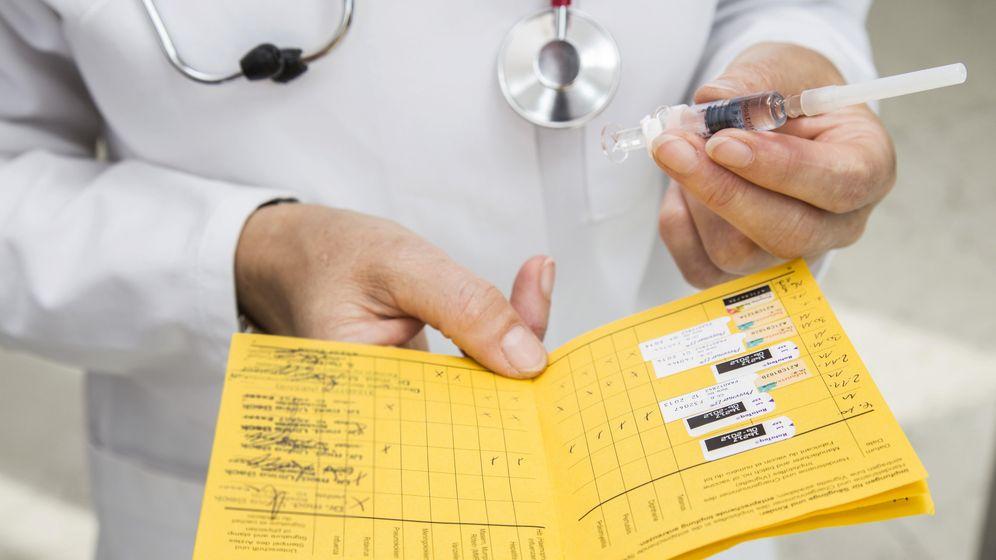 Foto: El calendario de vacunación. (CORBIS)