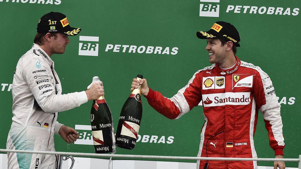 Las cifras de la pretemporada acercan tímidamente Ferrari a Mercedes