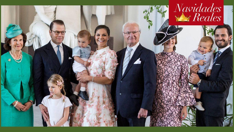 Salmón, vino caliente y el cumpleaños de Silvia: las navidades de la familia real sueca