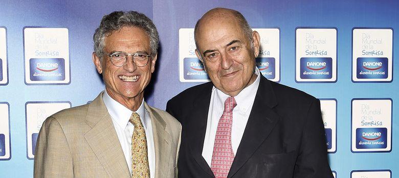Foto: El doctor Luis Rojas Marcos y el profesor José Antonio Marina, ayer durante su encuentro en Madrid.