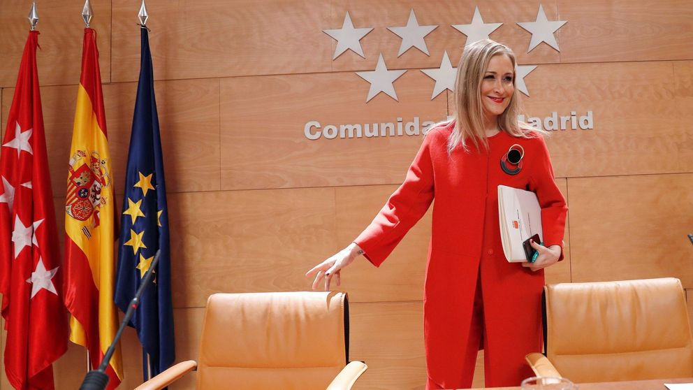 Cristina Cifuentes tacha a Granados de mentiroso, mezquino y miserable