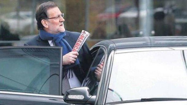 Foto: Mariano Rajoy, presidente del Gobierno y lector fiel del 'Marca'.
