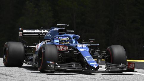 Alpine y Alonso arrancan nuevamente arriba, pero cualquiera se fía para el domingo