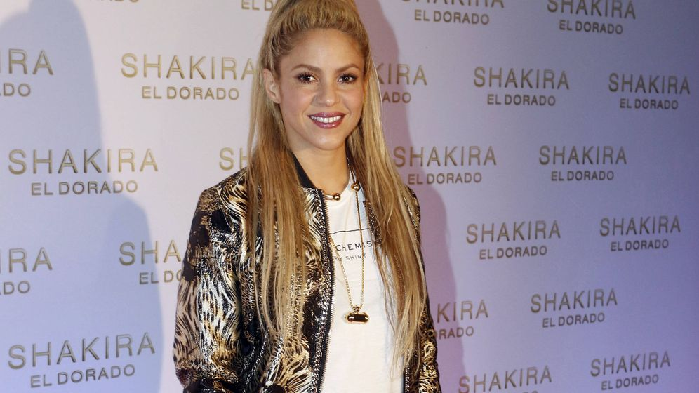 Foto: Shakira. (Gtres)