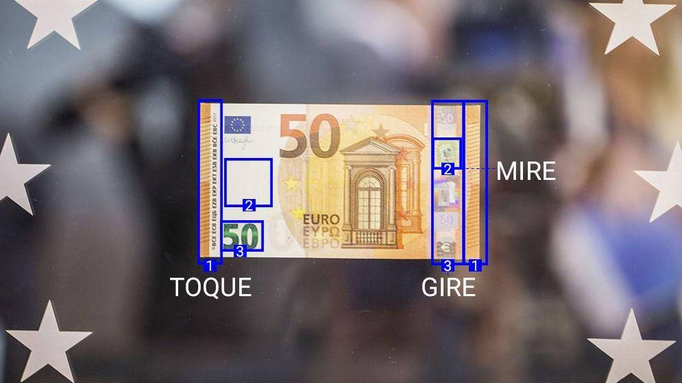dise o el nuevo billete de 50 euros tres pasos para identificarlo noticias de econom a. Black Bedroom Furniture Sets. Home Design Ideas
