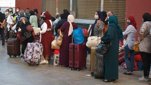 El Gobierno facilitará la salida de los 900 marroquíes atrapados en Ceuta por el covid