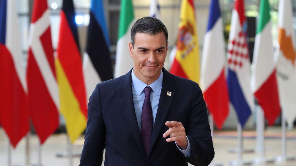 Foto: El presidente del Gobierno, Pedro Sánchez, a su llegada al Consejo Europeo en Bruselas. (Reuters)