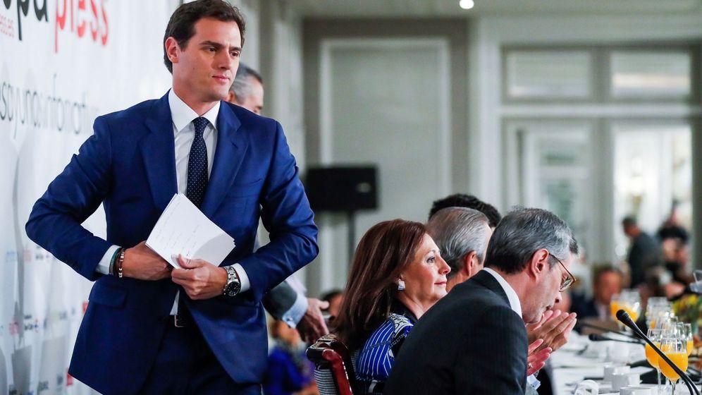 Foto: El líder de Ciudadanos y candidato a la Presidencia del Gobierno, Albert Rivera. (EFE)