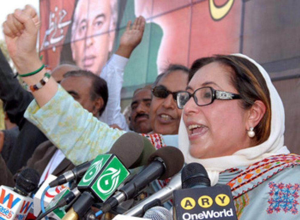 Foto: Benazir Bhutto muere en un atentado en Pakistán