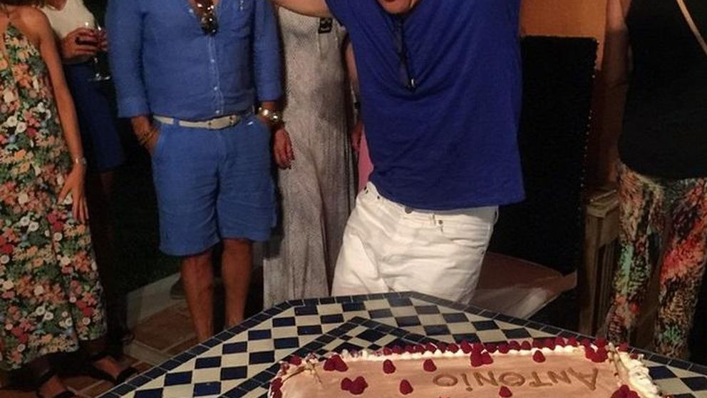 Así fue el cumpleaños para 'vips' de Antonio Banderas