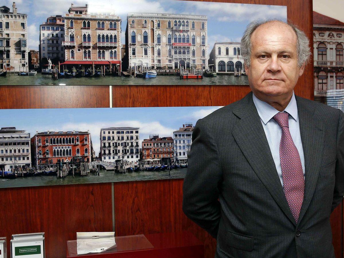 Foto: El presidente de Binter, Pedro Agustín del Castillo. (EFE)