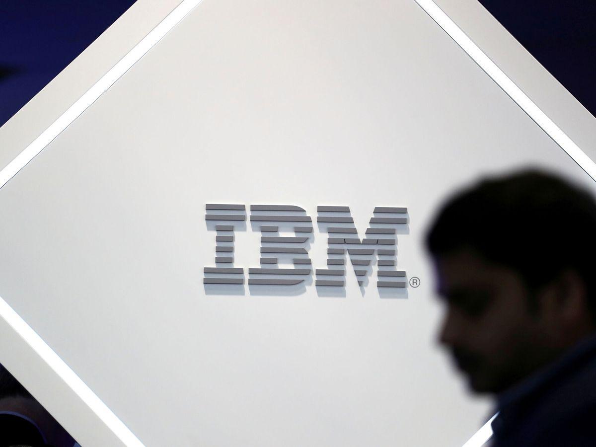 Foto: Logo de IBM. (Reuters)