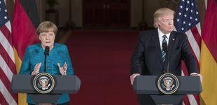 Post de Trump niega la cobra a Merkel: