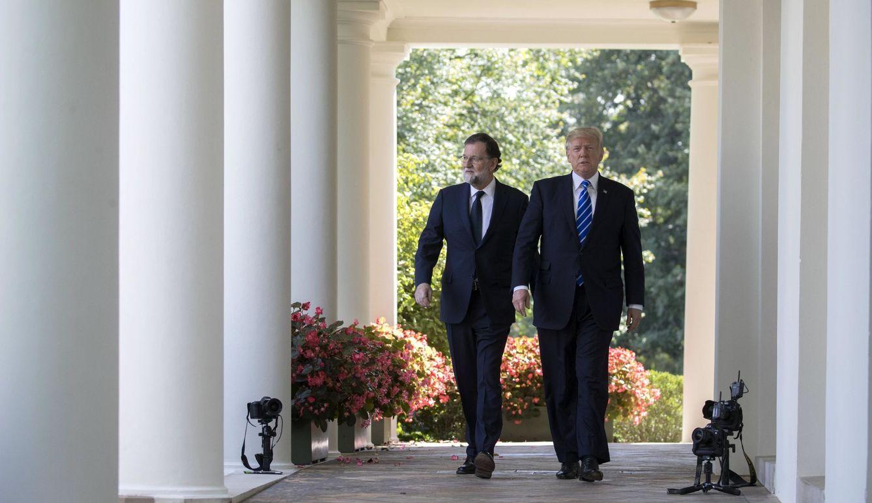Foto: Rajoy y Trump se citan en Washington para reforzar relaciones. (Reuters)