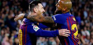 Post de Las risas de Messi en el Barcelona por Arturo Vidal