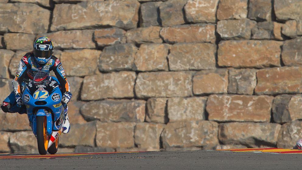 Márquez, un líder forjado en una moto que no probó sobre mojado