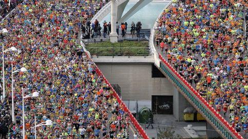 Masiva participación en la maratón de Valencia