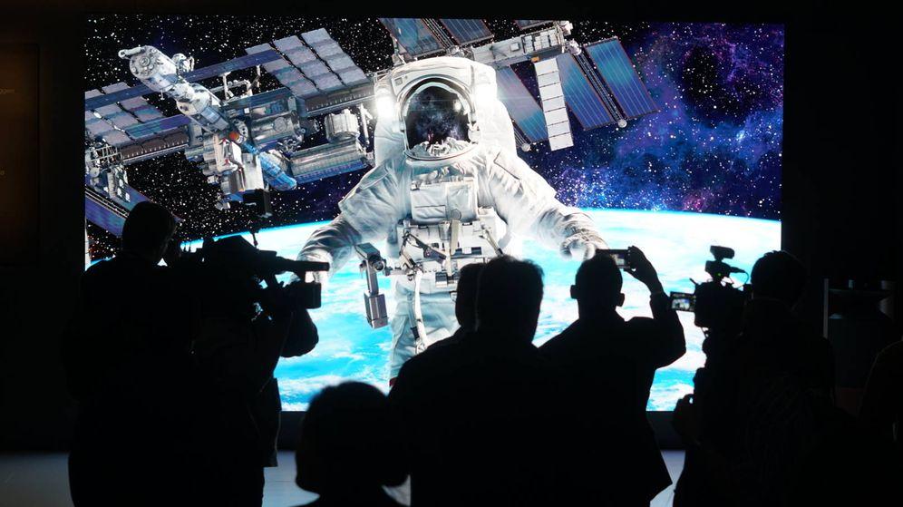 Foto: Imagen del nuevo The Wall de Samsung. (M.Mcloughlin)