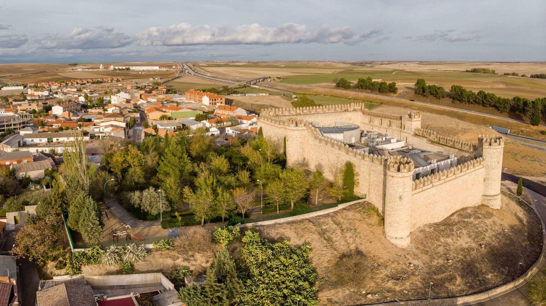 El castillo de Maqueda, visto desde arriba. (Alamy)