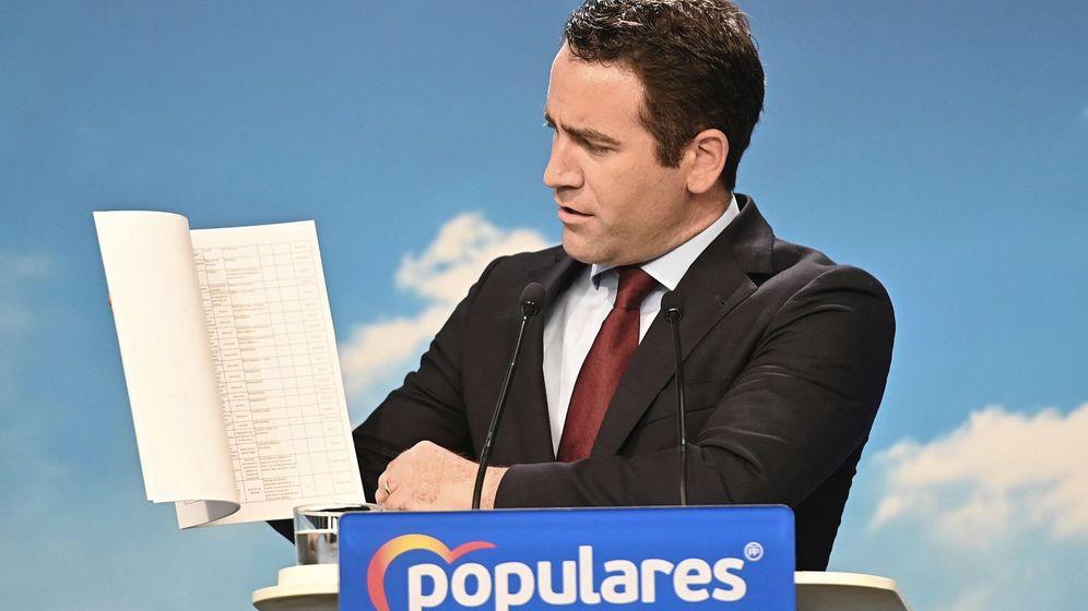 Foto: El secretario general de Partido Popular, Teodoro García Egea. (EFE)