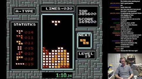 Así se bate un récord mundial de Tetris... sin querer