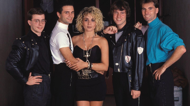 El grupo Olé, Olé cuando Marta Sánchez era su vocalista (Gtres)
