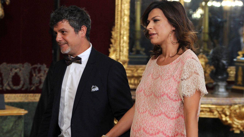 Foto: Alejandro Sanz y Raquel Perera, en una imagen de archivo (Gtres)
