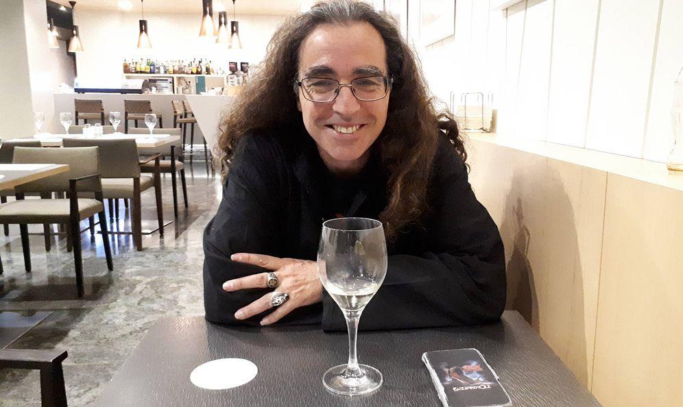 Foto: Andrés Carrillo de las Heras, en la entrevista. (R. M.)