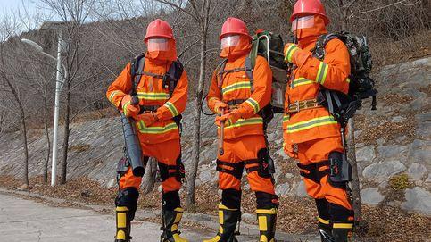 Los bomberos chinos tendrán superfuerza gracias a un nuevo exoesqueleto
