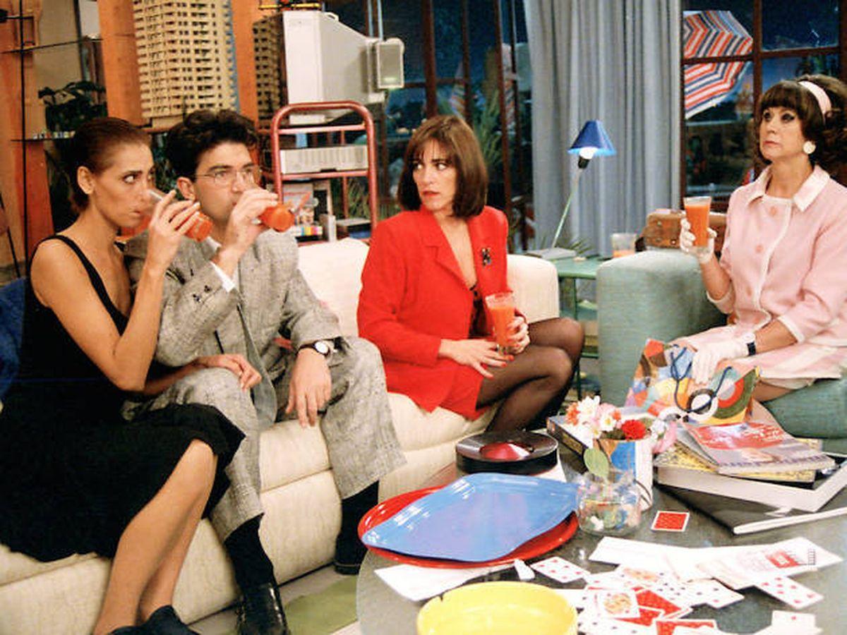 Foto: Una imagen de la película de Almodóvar, 'Mujeres al borde de un ataque de nervios'.