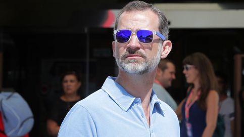 Las gafas de sol polarizadas de Felipe VI, un guiño al empresariado mallorquín