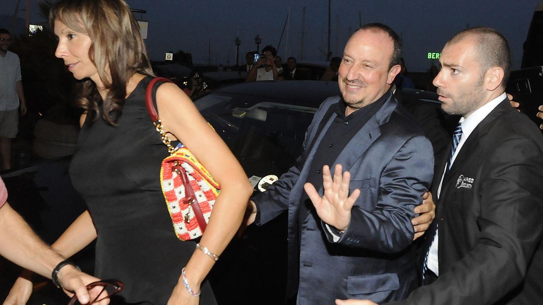 Rafa Benítez y su mujer, Montse Seara, en  2013 (Gtres)