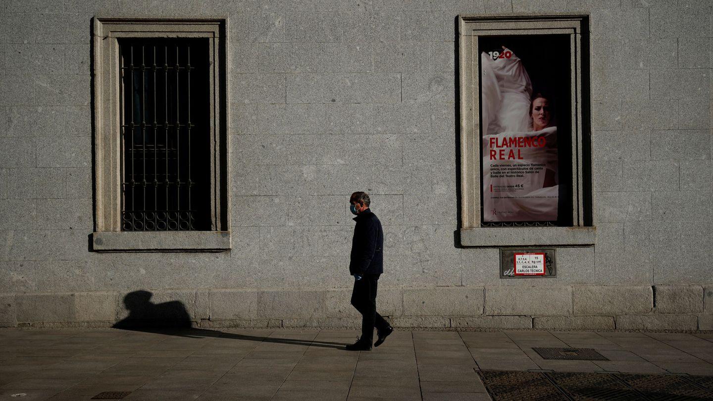 Las obras del Teatro Real, canceladas. (EFE)
