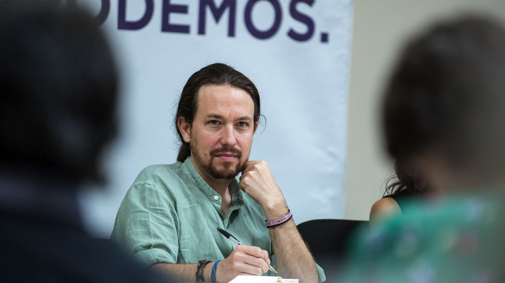 Foto: El secretario general de Podemos, Pablo Iglesias, durante el último Consejo Ciudadano Estatal de Podemos celebrado el pasado mes de julio. (EFE)