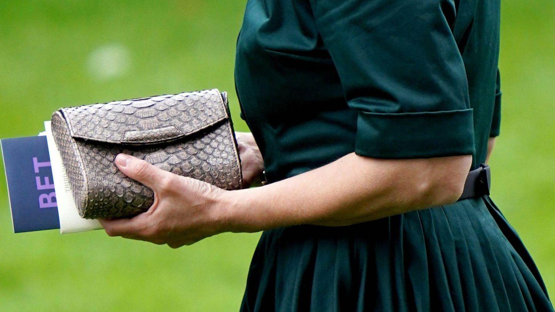 Detalle del bolso lucido por Sophie de Wessex. (CP)